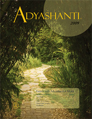 2009 Adyashanti Newsletter