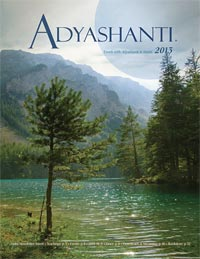 2013 Adyashanti Newsletter
