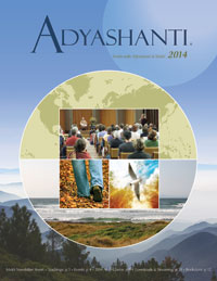 2014 Adyashanti Newsletter
