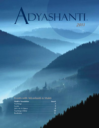 2011 Adyashanti Newsletter