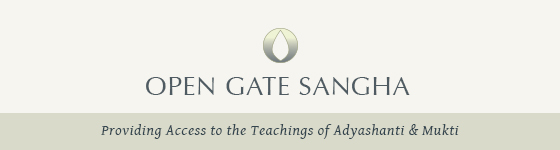 Open Gate Sangha Special Announcement